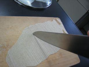 そばせんべいの作り方